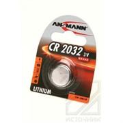 ANSMANN 5020122 CR2032 BL1 Элемент питания 2032